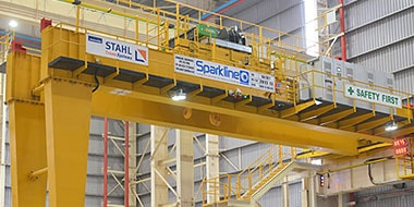 Get Semi-Gantry crane from Sparkline